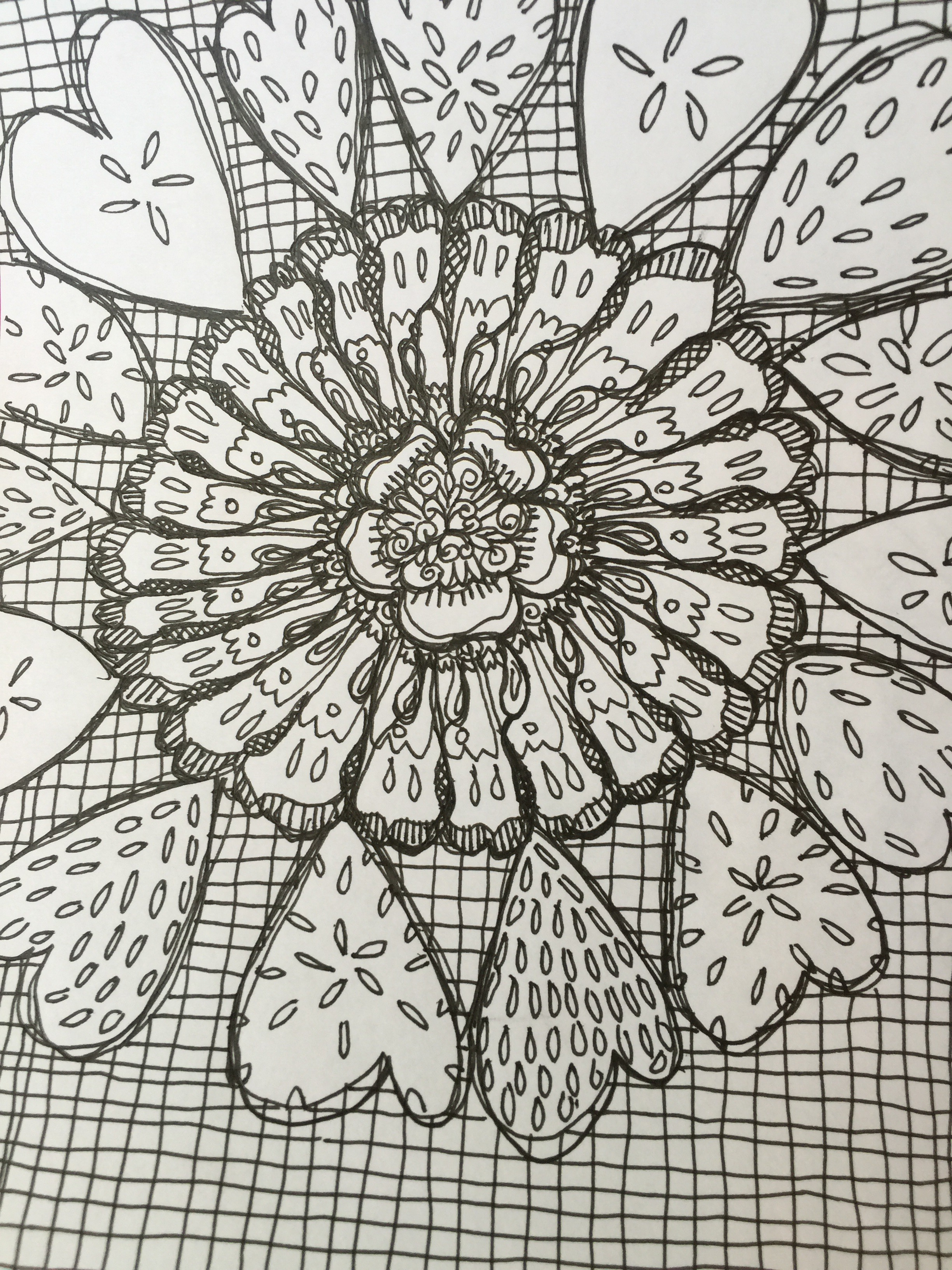 Mandalas And Doodling Tesswyatts Blog